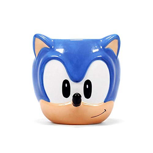 Kostüm Sonic Figur - Sonic The Hedgehog - 3D Tasse - Shaped - Geschenkbox