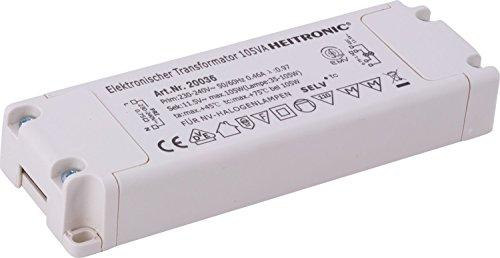 HEITRONIC ELEKTRONISCHER TRANSFORMATOR 35-105W 12V AC