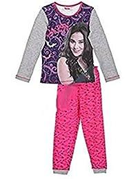 Chica Vampiro pijama niña mangas largas 6 años gris