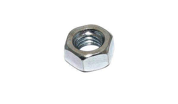Size M12 Hexagon Hex BZP Full Nut PACK 100