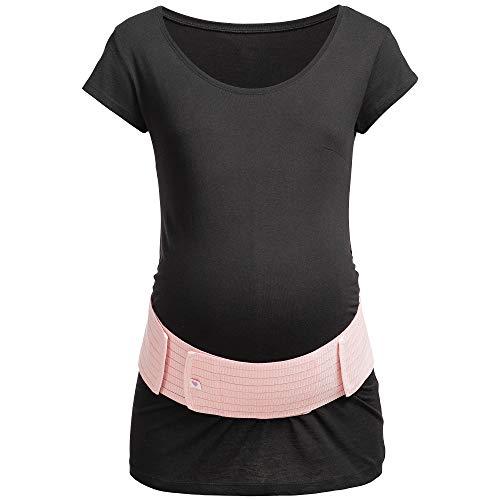 Rosa Stützgürtel für die Schwangerschaft
