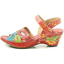 Laura VitaYF9917-9 Batista 09 Sandalias fashion de cuero mujer