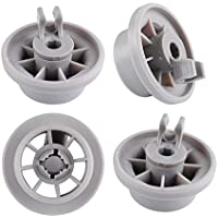 165314 Dishwasher Lower Rack Wheel Clips for Bosch Neff Siemens AP2802428 PS3439123 Replacement Part (4 Packs) by Wadoy