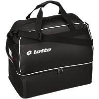 Lotto Sport Omega JR - Bolsa para botas de fútbol negro blanco/negro Talla:1