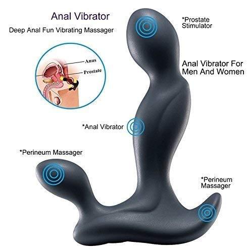 Gyt Massaggiatore Ricaricabile, per Dispositivo di Massaggio Rilassante Maschile Messaggio principiante Maschio con velocità e Modelli di Vibrazione Multipli