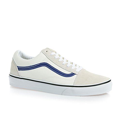 Vans U Old Skool, Chaussures de Sport Mixte Adulte White True Blue