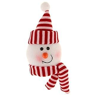 PETSOLA Navidad Santa Muñeco De Nieve Elfo Tapa De La Botella De Vino Titular De La Cubierta Decoración De La Mesa Regalos De Regalo
