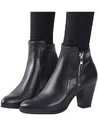 OXMOX DAMEN SCHUHE Stiefel Boots Stiefeletten Winterstiefel