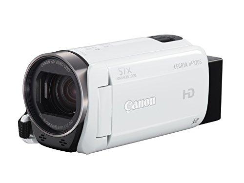 Legria HF R706 Camcorder White