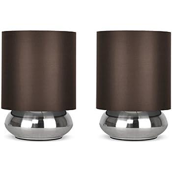 Lampe De Chevet Touch Tactile 3 Intensites Lumineuses E14 S