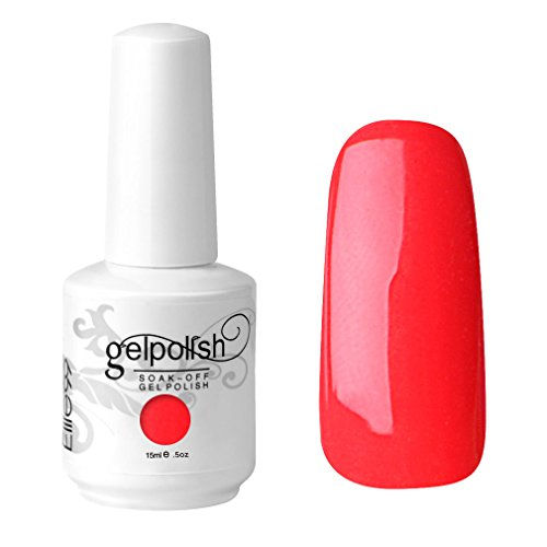 Elite99 Vernis A Ongles Gel UV Soak Off Base Top Nail Art Semi-Permanent Manucure 15ml 1332