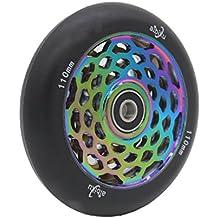 aibiku 110 mm Hollow Core Pro Scooter ruedas con rodamientos Abec 11 - 1 pieza (Colorful )
