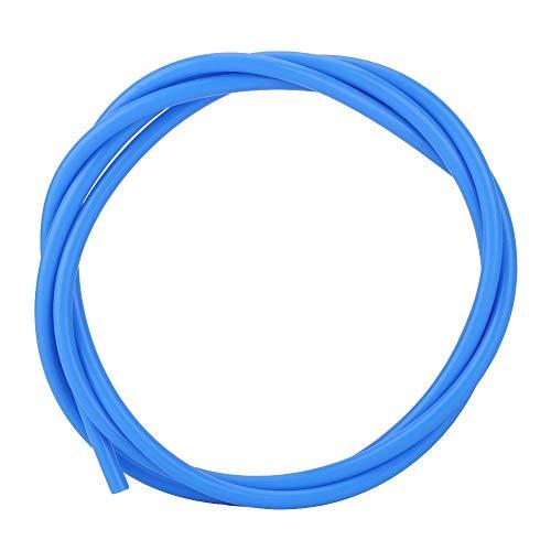 Wendry 1 Mt PTFE Rohr, Hohe Qualität PTFE Schlauch J-Kopf Zuführungsrohr Hotend Schlauch Extruder 3D Drucker Teil Zubehör(Blau)