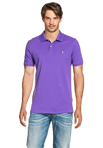 Polo Ralph Lauren Herren Poloshirt Tie Purple, Größe:S, Farbe:lila