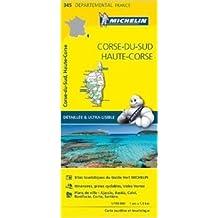 Carte Corse-du-Sud, Haute-Corse Michelin de Collectif Michelin ( 1 avril 2015 )