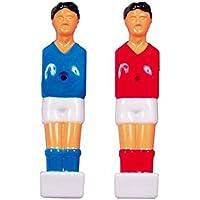 Jugador futbolin plastico para barra 12. 5mm 6052. 200 azul 6052. 200