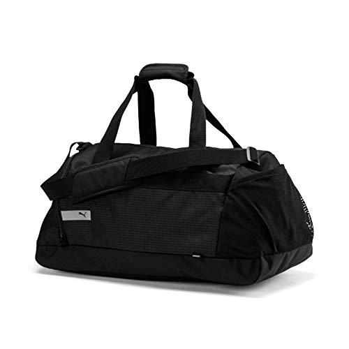 Puma Vibe Sports Bag Bolsa Deporte, Black, OSFA