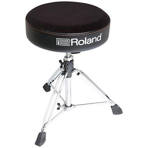 Runder Roland Drum-Hocker mit Velour-Sitz - RDT-R