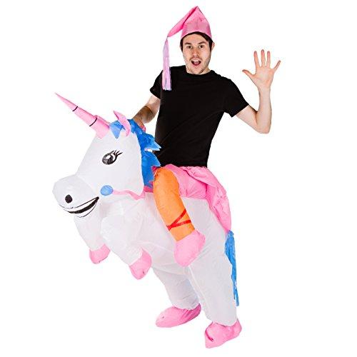 Imagen de hinchable adulto disfraz unicornio  alternativa