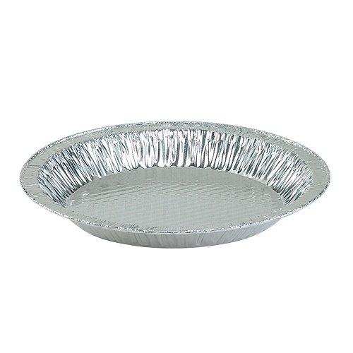 Nicole Home Collection 00564Aluminium 22,9cm Pie Teller, 1-1/10,2cm Tiefe (200Stück) - Nicole 2 Stück