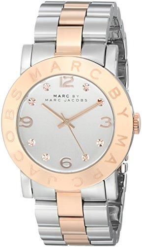 Marc by Marc Jacobs Damen Analog Quarz Uhr mit Edelstahl Armband MBM3194