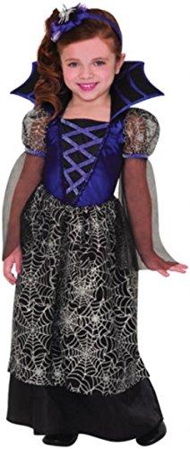 Miss Wicked Web Kinder Kostüm -4-6 (Vier Elemente Halloween Kostüme)