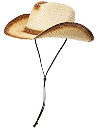 Battercake Sombrero Unisex De Vaquero En Forma De Cómodo con Paja Sombreros  Sombrero De Verano para d442e8aa41a