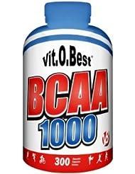Vit-O-Best BCAA 1000, Suplementos Alimentarios para Deportistas - 300 Cápsulas