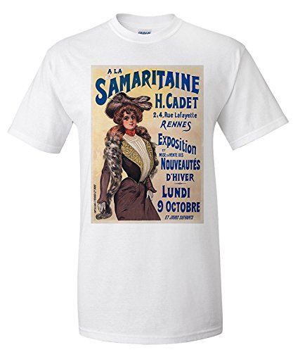 a-la-samaritaine-vintage-poster-france-premium-t-shirt