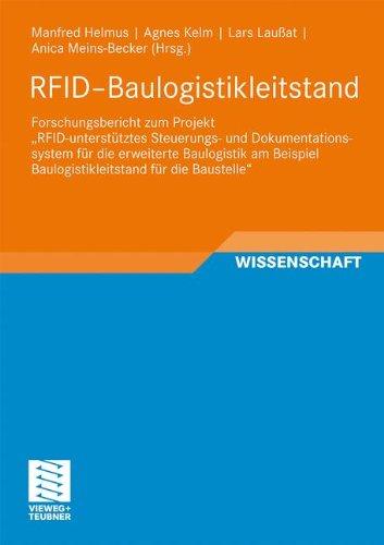 RFID-Baulogistikleitstand: Forschungsbericht zum Projekt