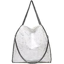 d7c276eb6bc8b Rolanscia Damen Handtasche Elegant Kette Frauen Handtaschen Umhängetasche