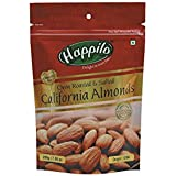 Happilo Premium Roasted And Salted Californian Almonds, 200g (Pack Of 2)