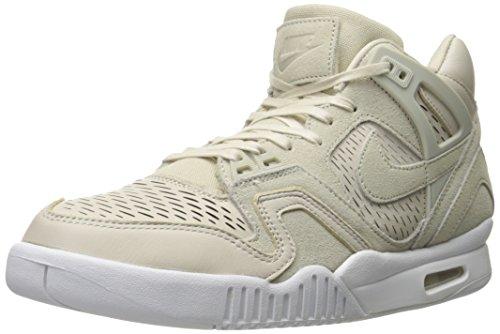 size 40 7025d c037d Nike Air Tech Challenge II Laser, Chaussures de Sport Homme, Blanc  Cassé-Blanco