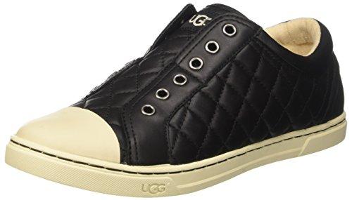 ugg-australia-damen-jemma-quilted-niedrige-sneaker-schwarz-40-eu