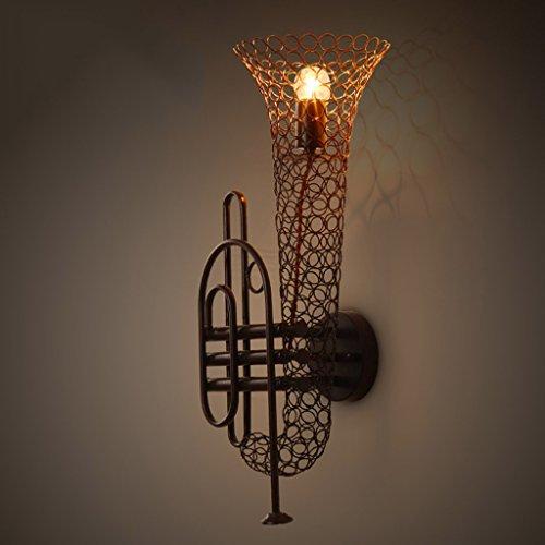 Preisvergleich Produktbild Helen Wandleuchte Bar Cafe Loft Retro Industrial Wind Aisle Musikinstrument Wandleuchte