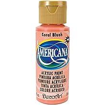 Acrilico americana dipingere 2 once-Coral Blush/opaco