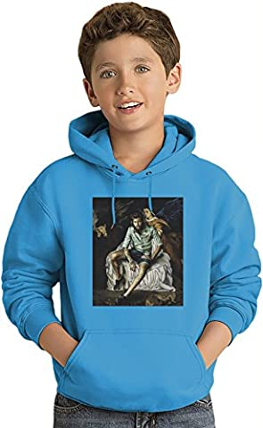 Guardian Angels Lightweight Hoodie For Kids | 80% Cotton-20%Polyester| DTG Printing| Unique & Custom Jumpers, Sweatshirts, Sweaters & Kids Clothing By Wicked Wicked 12-13 yrs