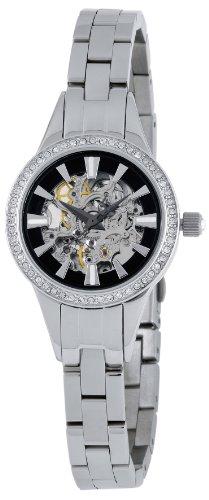 Wellington WN110-121 - Reloj de mujer automático, correa de acero inoxidable color plata