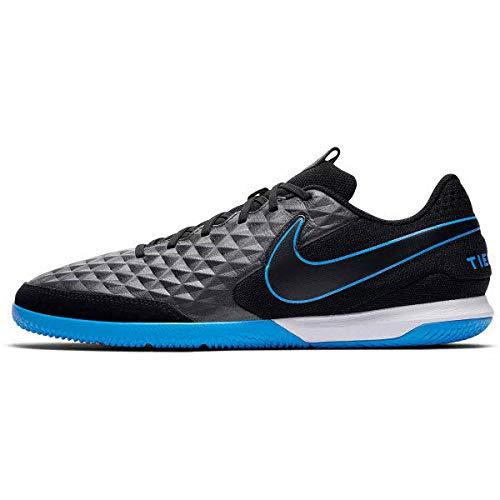 Nike Unisex-Erwachsene Tiempo Legend 8 Academy Ic Fußballschuhe, Mehrfarbig Black-Blue Hero 4, 45.5 EU