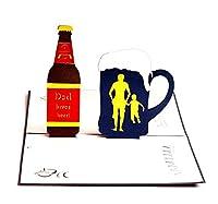 Taille: 155mm (L) x 130mm (W) quand il est fermé. Couleur: couverture de la carte en bleu. la carte est jaune, blanche, bleue, rouge et brune. enveloppe de la carte en or. Votre famille et vos amis peuvent constater que vous avez fait un effort parti...