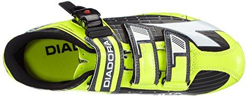 Diadora Trivex Plus, Chaussures de Vélo de route mixte adulte Gelb (schwarz/gelb fluo/weiß 3444)