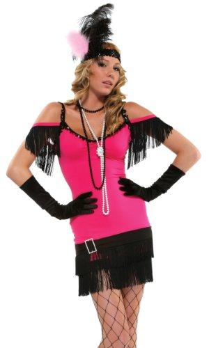 Forplay Sexy Burlesque Kostüm Gr.S/M