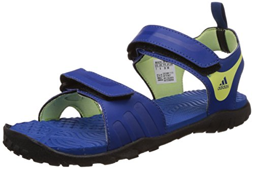 adidas Women's Escape 2.0 W Blue, Dark Blue, Light Yellow and Black Fashion Sandals - 5 UK  available at amazon for Rs.1379
