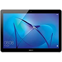 Huawei Mediapad T3 10 - Tablet 9.6 pulgadas IPS HD (WiFi, Procesador quad-core Qualcomm Snapdragon 425, 2 GB de RAM, 16 GB de memoria interna, Android 7 Nougat), color gris