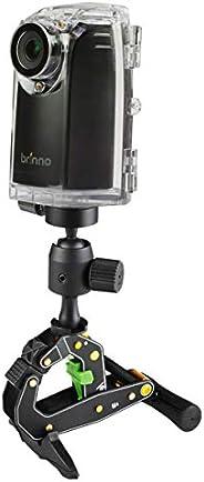 كاميرا احترافية لتصوير اعمال البناء بخاصية التصوير المتباطئ طراز BCC200 من برينو - اسود