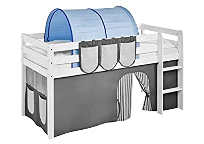 Tunnel blue - for High sleeper, Mid sleeper and bunk bed produced by Idenses GmbH - quick delivery from UK.