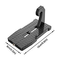 Aolvo auto porte,2018laptop veicolo gancio porta passo scala pieghevole Saftey martello facile accesso a auto auto sul tetto, Jeep, SUV 2antigraffio Pads