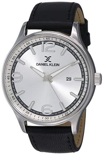 Daniel Klein Analog Silver Dial Men's Watch-DK12019-1