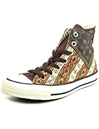 Converse All Star Clean Mid Canvas Distressed 131071c Homme Chaussures Bleu Fonc