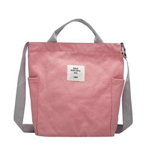 Maleya Canvas Tasche Damen Umhängetaschen Handtasche Vintage Handtasche Canvas Schultertasche Casual Tasche Damenmode Einfache einzelne Schulter Messenger Bags Canvas Bag (Gold Heels Und Handtasche)